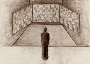 Drawing for Aside of Audience