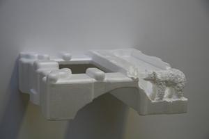 Styrofoam Polarbear